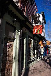 Shops and storefronts, Newport, Rhode Island, United States of America