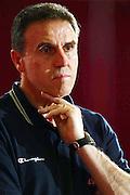 BORMIO LUGLIO 2004<br /> RITIRO PREOLIMPICO NAZIONALE ITALIANA BASKET NELLA FOTO CARLO RECALCATI<br /> FOTO CIAMILLO-CASTORIA