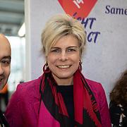 NLD/Utrecht/20200214 - Bn'ers zoeken echt contact met reizigers, Prinses Laurentien