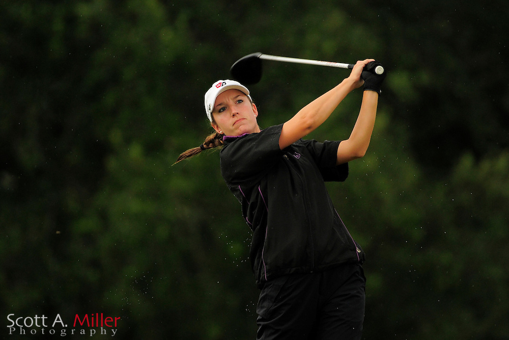 Carly Werwie during the second round of the Symetra Tour Championship at LPGA International on Sept. 27, 2013 in Daytona Beach, Florida. <br /> <br /> <br /> &copy;2013 Scott A. Miller