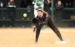 30 March 2013:   during an NCAA Division III women's softball game between the DePauw Tigers and the Illinois Wesleyan Titans in Bloomington IL