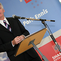 Kevin Thompstone CEO Shannon Development at the official opening of the new Ennis' Information Age Park<br /> <br /> Photograph by Yvonne Vaughan.