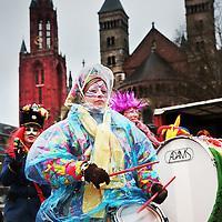 Nederland, Maastricht, 9 februari 2016. Zaate Hermeniekes Konkoer op en rond het Vrijthof.<br /><br /><br /><br />Foto: Jean-Pierre Jans