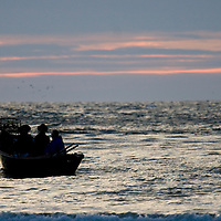 Fishing | Fishermen in a Boat on the Oregon Coast | Drew Bird Photography | San Francisco Freelance Photographer | Freelance Photojournalist | Oakland Event Photographer