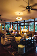 Lobby lounge and bar at Raffles Grand Hotel d'Angkor, Siem Reap