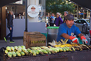The Lexington Avenue street fair, New York City.