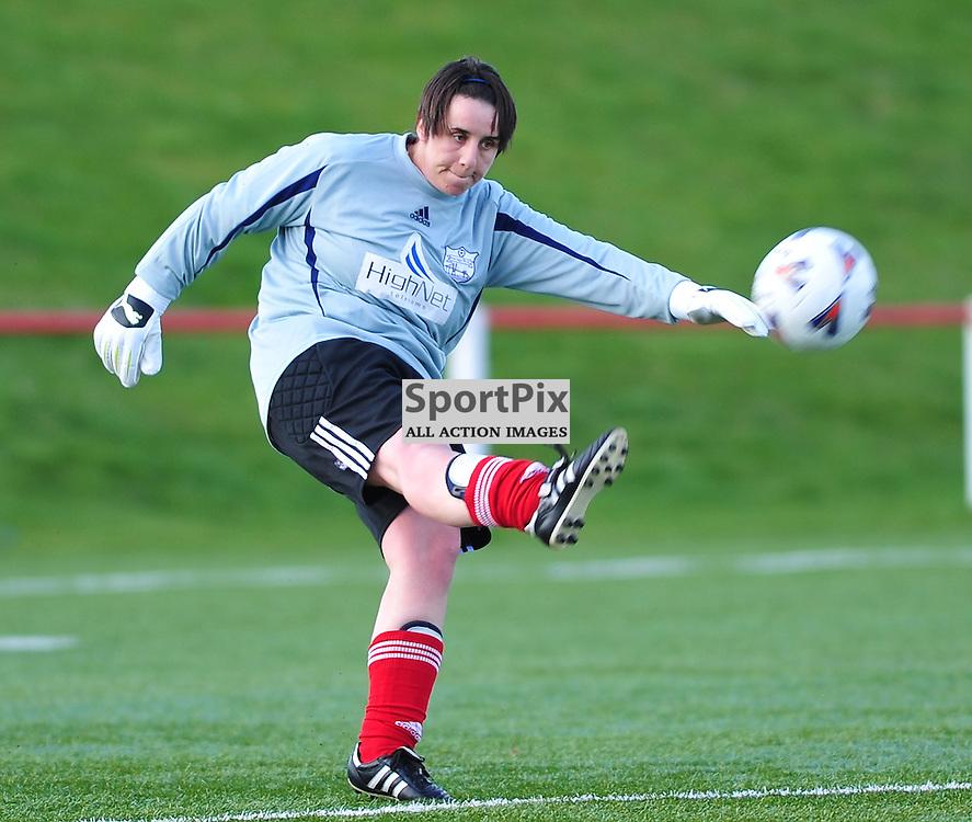 Kim Jappy (Inverness)..Hibernian v Inverness City, Scottish Women's Premier League, 18 March 2012