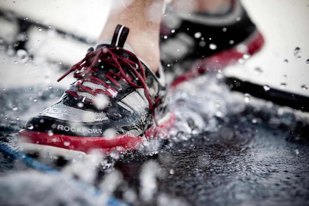 Rockport shoe photoshoot in Dubai, United Arab Emirates, 16 November 2010. Photo: Gareth Cooke/Subzero Images