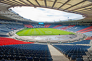 General view before the Scottish FA Youth Cup Final match between Celtic and Rangers at Hampden Park, Glasgow, United Kingdom on 25 April 2019.