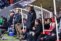 Antoine KOMBOUARE - 25.01.2015 - Reims / Lens  - 22eme journee de Ligue1<br /> Photo : Dave Winter / Icon Sport *** Local Caption ***