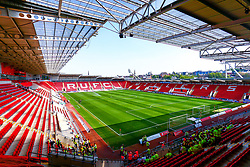 A general view of the Aesseal New York Stadium, home to Rotherham United - Mandatory by-line: Ryan Crockett/JMP - 22/04/2019 - FOOTBALL - Aesseal New York Stadium - Rotherham, England - Rotherham United v Birmingham City - Sky Bet Championship
