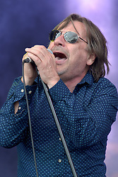 Image ©Licensed to i-Images Picture Agency. 05/07/2014. Oxford, United Kingdom. Cornbury Festival. Southside Johnny and the Asterbury Jukes perform at the Cornbury Festival. Picture by i-Images