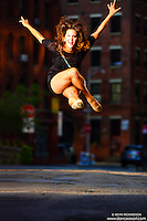 Dance As Art Photography Project- Dumbo Brooklyn, New York with dancer, Caitlyn Casson
