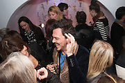 MATTHEW WILLIAMSON, Maison Triumph launch to celebrate the beginning of London fashion week. Monmouth St. 14 February 2013.