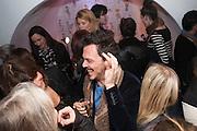 MATTHEW WILLIAMSON, Maison Triumph launch to celebrate the beginning of London fashion week. Monmouth St. 14 February 2013.