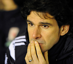 Middlesbrough Manager, Aitor Karanka - Photo mandatory by-line: Dougie Allward/JMP - Mobile: 07966 386802 - 18/02/2015 - SPORT - Football - Birmingham - ST Andrews Stadium - Birmingham City v Middlesbrough - Sky Bet Championship