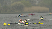 2003 - Rowing - Head of the River Race, Championship Course, River Thames, London. Looking from Chiswick Pier towards Chiswick Eyot [Mandatory Credit; Peter Spurrier  / Intersport Images]