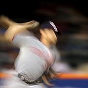 Pitcher Stephen Strasburg, Washington Nationals, pitching during the New York Mets Vs Washington Nationals MLB regular season baseball game at Citi Field, Queens, New York. USA. 30th April 2015. Photo Tim Clayton