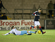 Dundee's Nick Ross and Forfar's Martyn Fotheringham - Forfar Athletic v Dundee, Martyn Fotheringham testimonial at Station Park, Forfar.Photo: David Young<br /> <br />  - © David Young - www.davidyoungphoto.co.uk - email: davidyoungphoto@gmail.com