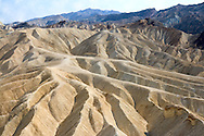 Death Valley's badlands viewed from Zabriskie Point.