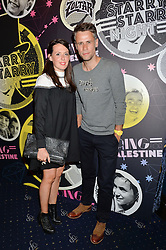 RICHARD BACON and his wife REBECCA at The Hoping Foundation's 'Starry Starry Night' Benefit Evening For Palestinian Refugee Children held at The Cafe de Paris, Coventry Street, London on 19th June 2014.