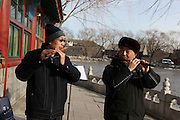 China, Beijing, The Summer Palace Playing Music
