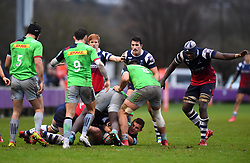 - Mandatory by-line: Paul Knight/JMP - 02/12/2018 - RUGBY - Clifton RFC - Bristol, England - Bristol Bears United v Harlequins - Premiership Rugby Shield
