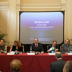 Modigliani conferenza stampa