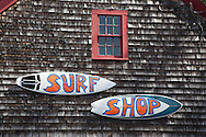 United States. Cape Cod in Massachussets. surf rental in