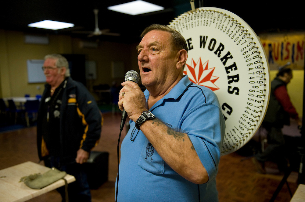 Keith North - President of the Fremantle Workers' Social and Leisure Club