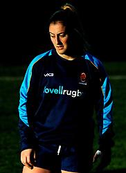 Carmen Tremelling of Worcester Valkyries- Mandatory by-line: Nizaam Jones/JMP - 01/12/2018 - RUGBY - Sixways Stadium - Worcester, England - Worcester Valkyries v Saracen Women- Tyrrells Premier 15s