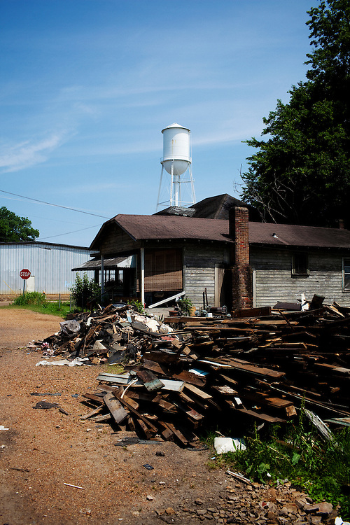 in the Baptist Town neighborhood of Greenwood, Mississippi on  Wednesday, May 19, 2010.