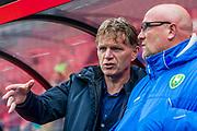 ALKMAAR - 19-03-2017, AZ - ADO Den Haag, AFAS Stadion, 4-0, ADO Den Haag trainer/coach Alfons Fons Groenendijk.