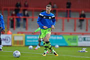 Forest Green Rovers Alexander Iacovitti(20) during the EFL Sky Bet League 2 match between Stevenage and Forest Green Rovers at the Lamex Stadium, Stevenage, England on 21 October 2017. Photo by Adam Rivers.