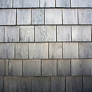 Weathered Shingles used on houses built in Nantucket,  Nantucket Island, Massachusetts, USA. Photo Tim Clayton