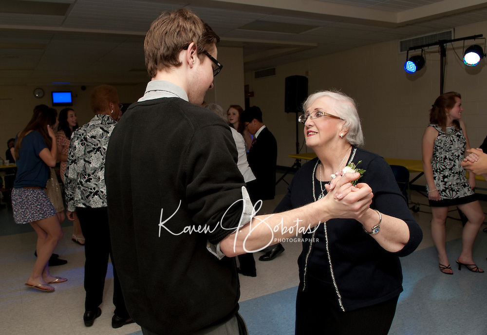 Senior Senior Dance at Gilford High School May 4, 2012.  Karen Bobotas/for the Laconia Daily Sun