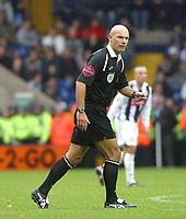 Photo: Dave Linney.<br />West Bromwich Albion v Wolverhampton Wanderers. Coca Cola Championship. 22/10/2006. Referee Mr H Webb