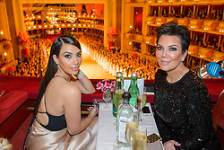 61147046<br /> Kim Kardashian and her mother Kris Jenner attend the traditional Vienna Opera Ball (Wiener Opernball), Vienna State Opera, Vienna, Austria, Thursday, 27th February 2014. Picture by  imago / i-Images<br /> UK ONLY