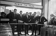08/07/1965 <br /> 07/08/1965<br /> 08 July 1965<br /> Opening of Powers Supermarket in Ballyfermot. At he opening were: Mr. Galen Weston; Mr. Owen Quinn, Manager; Mr. Garfield Weston; Mr. James Boyd and Mr. Des Shanley-