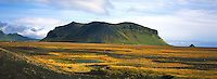 Islande. Region de Vik. // Iceland. Vik area.