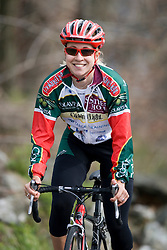 Andrea Dvorak (Colavita/Sutter Home) climbs Reeds Gap before the arrival of the Tour of Virginia.  Stage 4 of The Tour of Virginia was a103 mile road race from Douthat State Park to Waynesboro, VA on April 26, 2007. The stage featured three category three climbs (Warm Springs Mountain, Panther Gap, and Brents Gap) as well as two category 1 climbs up Montebello and Reeds Gap. Formerly known as the Tour of Shenandoah, the ToV has gained National Race Calendar (NRC) status for the first time in its five year history.