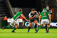 Scott Otten of Ospreys in action during todays match<br /> <br /> Photographer Craig Thomas/Replay Images<br /> <br /> Guinness PRO14 Round 4 - Ospreys v Benetton Treviso - Saturday 22nd September 2018 - Liberty Stadium - Swansea<br /> <br /> World Copyright &copy; Replay Images . All rights reserved. info@replayimages.co.uk - http://replayimages.co.uk