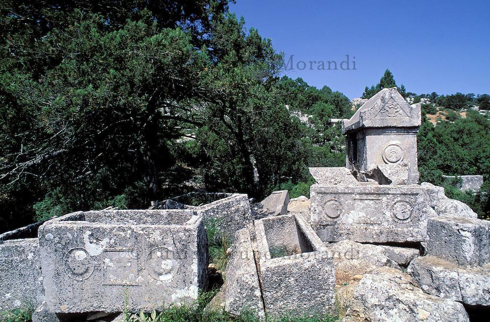 Turquie - Termessos - Tombes