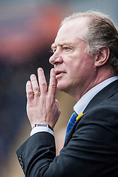 Cowdenbeath's manager Jimmy Nicholl.<br /> Falkirk 5 v 0 Cowdenbeath, Scottish Championship game played today at The Falkirk Stadium.<br /> &copy; Michael Schofield.