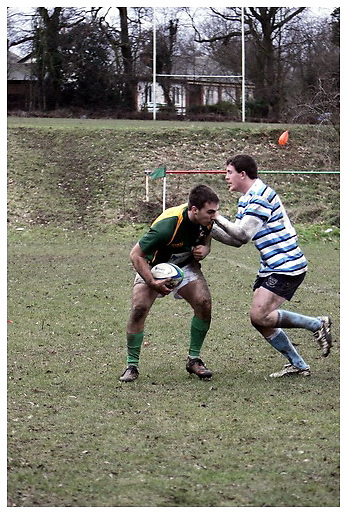 Hertfordshire Stags v Sussex. Counties Under 20's.Cheshunt RFC. 14-2-2010.