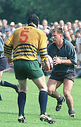 Henley Hawks, Rotherham, ADP Div 2, 6-5-2000, Mike Schmid. Dry Leas, Henley. Oxon. [Mandatory Credit: Peter Spurrier; Intersport Images].