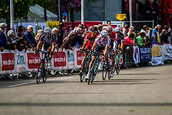 Points sprint at first passage of finish line Ronan van Zandbeek , Stage 3 Buchten - Buchten, Ster ZLM Toer, Buchten, The Netherlands, 20th June 2014, Photo by Thomas van Bracht / Peloton Photos
