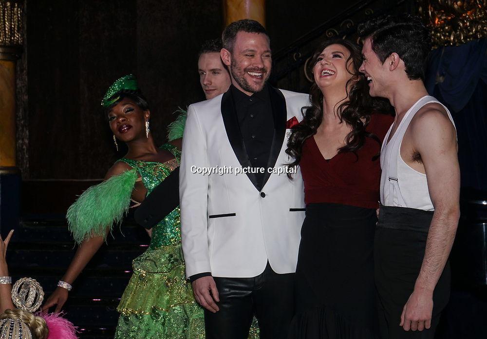 Will Young,Jonny Labey,Zizi Strallen attends Photocall for the West End launch of Strictly Ballroom The Musical at Café de Paris on 14th Feb 2018, London, UK