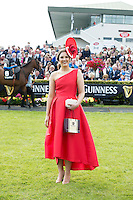 30/07/2015 report free : Winners Announced in Kilkenny Best Dressed Lady, Kilkenny Best Irish Design & Kilkenny Best Hat Competition at Galway Races Ladies Day <br />  Cork native, Alex Butler from Ballyedmond, Midleton, Co .Cork has scooped the coveted title of Kilkenny Best Dressed Lady .<br />  Photo:Andrew Downes, xposure