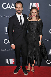 (L-R) Benjamin Millepied and Natalie Portman arrives at the L.A. Dance Project's Annual Gala held at LA Dance Project in Los Angeles, CA on Saturday, October 7, 2017. (Photo By Sthanlee B. Mirador/Sipa USA)